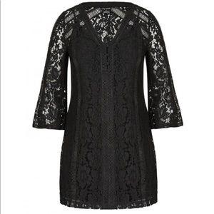 City Chic Dresses - Short black city chic dress